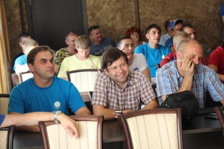 Небосвод Белогорья собрал 15 пилотов.