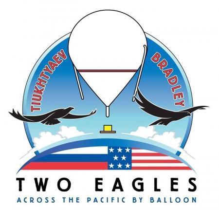 """""""Два орла"""" Трой Брэдли и Леонид Тюхтяев готовятся к перелету через Тихий океан."""