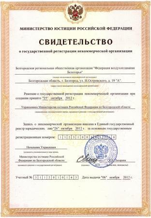 """БРОО """"Федерация воздухоплавания Белогорья"""" исполнилось два года!"""