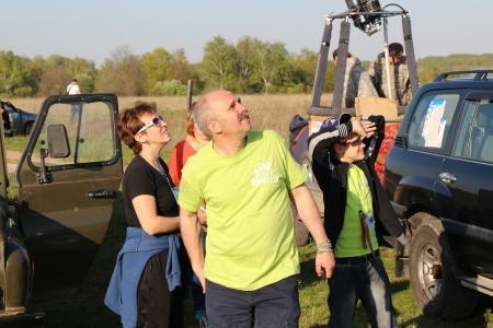 В День Победы стартовал 4-й Открытый Кубок Малахово по воздухоплавательному спорту