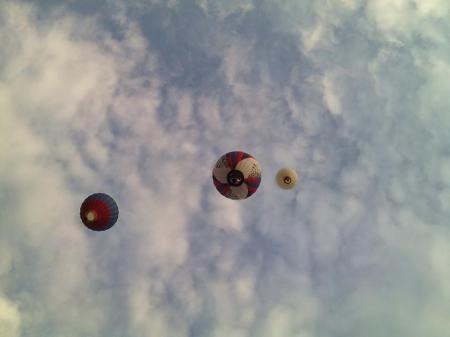 """14-й Фестиваль воздухоплавания """"Золотое кольцо России"""". Второй полёт."""