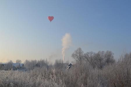 Яблоки на снегу 2016. Великие Луки. В лучах яркого солнца над Ловатью (фоторепортаж)