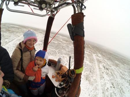 Яблоки на снегу 2016. Крым.