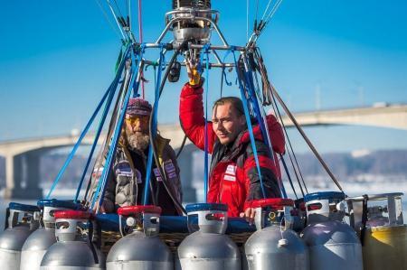 Новая попытка установления рекорда по продолжительности полёта на воздушном шаре
