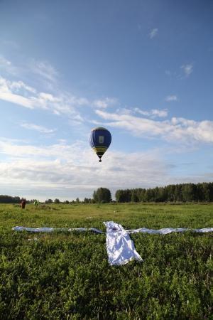 Тренировочный полёт в рамках «Небесной ярмарки-2016»