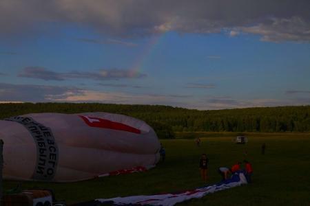 Небесная Ярмарка-2016. Первый спортивный полёт. Гроза ушла в сторону