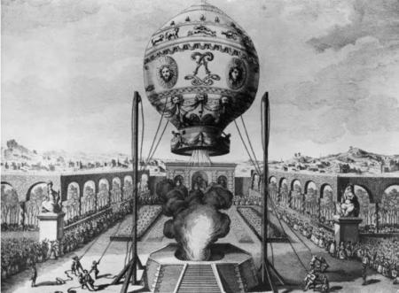 21 ноября 1783 года - праздничный шаг в историю воздухоплавания