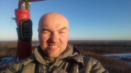 Отчет о рекордном полете 28.02.2017г. на аэростате АХ-7 №RA-2580G, пилот Зименко Георгий