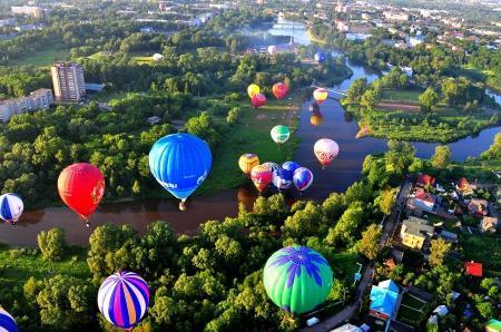 В 22-й Международной встрече воздухоплавателей в Великих Луках примут участие иностранные пилоты