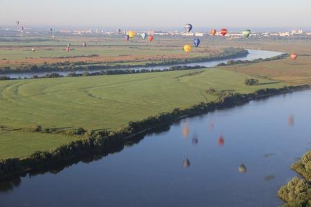 В Рязани состоялся первый спортивный полёт