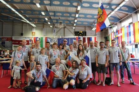 20-й Чемпионат Европы по воздухоплавательному спорту. Открытие
