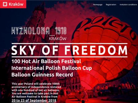Приглашаю на фестиваль «SKY OF FREEDOM»