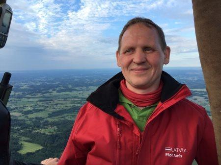 Арнис Микельсонс: Лучший «допинг» аэронавтов – счастливые глаза зрителей