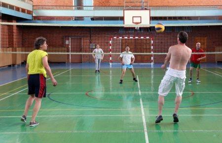 Традиционный волейбол в Великих Луках