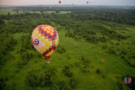 Продолжаются спортивные полеты аэростатов на «Небесной ярмарке»