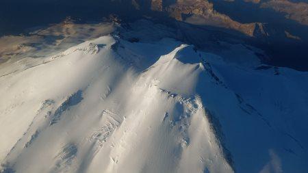 Перелет через Эльбрус на аэростате