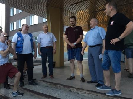 Победителями «кей-граб» стали Роман Баута и Сергей Чиненов