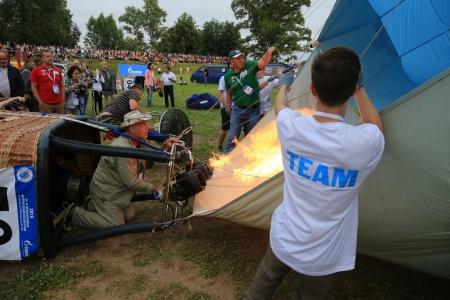 Участники МВВвВЛ-2019 отправились выполнять первый спортивный полет