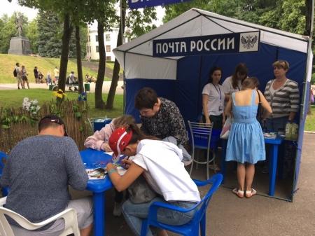 Письма и открытки баллонной почты приземлились в деревне Демя Новосокольнического района