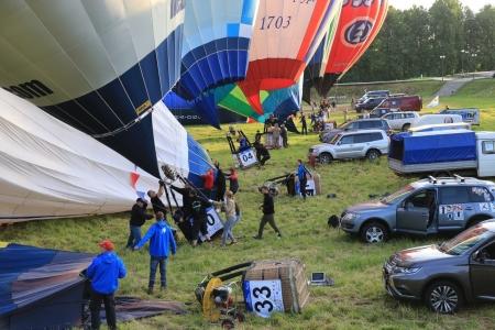 По результатам первого спортивного полета лидирует аэронавт из Польши Томаш Филюс