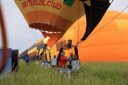 Участники Встречи воздухоплавателей приступили к выполнению очередного утреннего полета