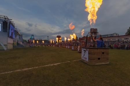 Открытие «Небесной ярмарки» в Кунгуре собрало 10 тысяч человек