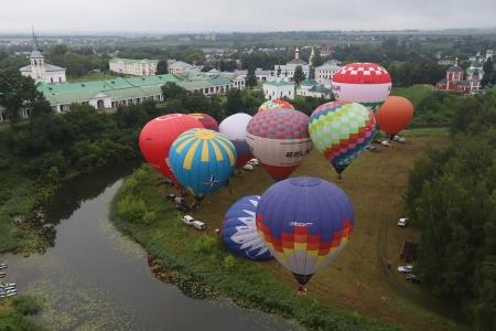 Стартовал 18-й фестиваль воздухоплавателей