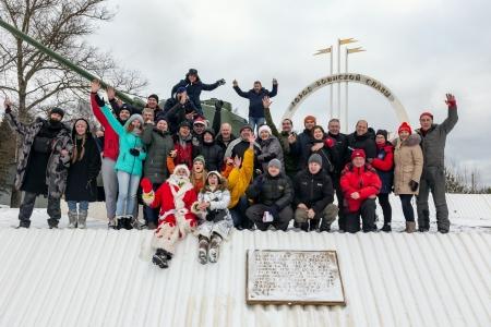 Яблоки на снегу 2020 в Дмитрове